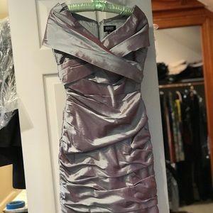 Designer off the shoulder dress